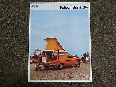 Ford Xb Surfsider  Brochure '' Rare ''