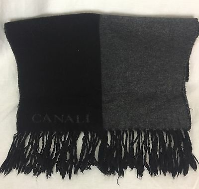 Canali Cashmere And Silk Men's Scarf. Beautiful Condition.