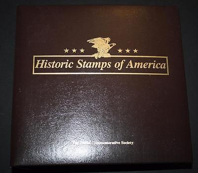 Postal Commemorative Society Historic Stamps of America - Not Complete - 100