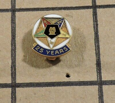 Order of The Eastern Star General Grand Chapter logo 10K Collector Pin P-85