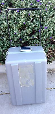 Parsons Mfg Corp Flight Case/Road Equipment Case 23 x 15 x 13 W/Wheels & Handle
