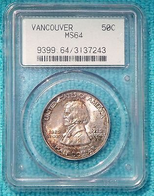 1925 MS-64 Fort Vancouver Centennial Silver Only 14,994 Minted