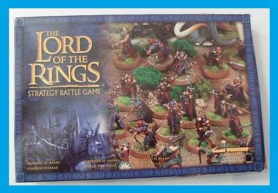 Miniature The Lord Of The Ring - Games Workshop -Guerrieri Di Haradrim
