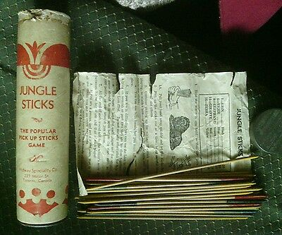 Vintage Jungle Sticks Pick-Up-Sticks Game Toronto, Canada