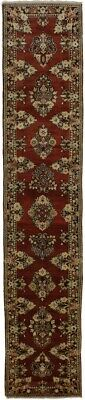 Excellent Quality Red Mahal Runner Persian Wool Oriental Area Rug Carpet 3X13