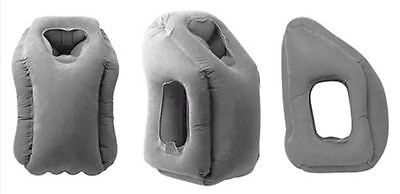 New Hot Inflatable Air Cushion Neck Comfortable Support Pillow Travel And Home