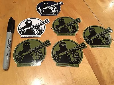 6 Mesa Tactical Gun Militia Hunting Weaponry Swat Ammo Arms Stickers/Decals