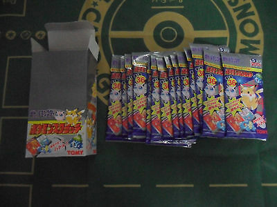 TOMY POKEMON scratch cards JAPANESE BOOSTER PACK RARE