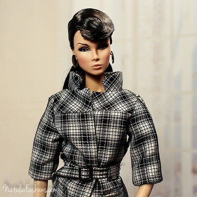 New Coat Only Fashion Royalty Vanessa Perrin Refinement Doll Dress Outfit