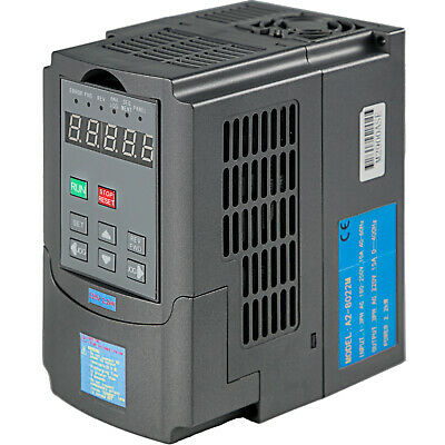 New 2.2Kw 3Hp Vfd 7A 220V Single Phase Variable Speed Drive Vsd Drive Inverter