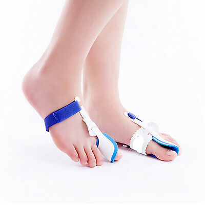2x Bunion Night Splint Hallux Valgus Corrector Big Toe Straightener Pain liau