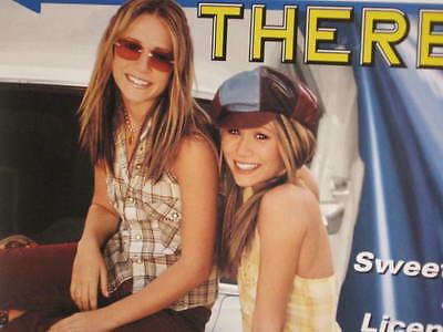 Getting There Mary-Kate Ashley Olsen Twin Sweet 16 Original Canada Promo Poster