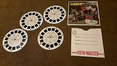 View-Master Famous World Cities 4 Reel Set