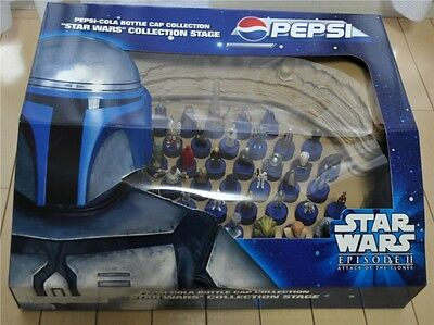 Pepsi Star Wars Bottle Cap Collection Stage Episode 2 Attack Of The Clones 2