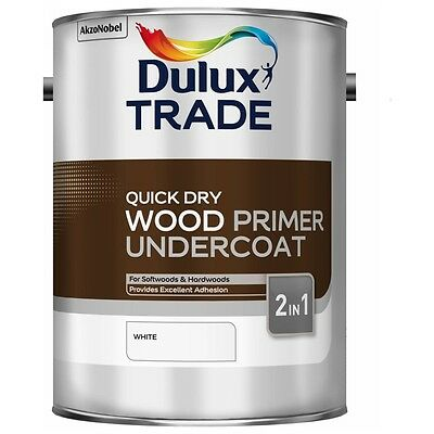 Dulux Trade Quick Dry Wood Primer Undercoat 2in1 2.5L