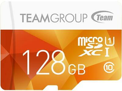 Team Group 128GB Color microSDXC UHS-I/U1 Class 10 Memory Card with Adapter, Spe