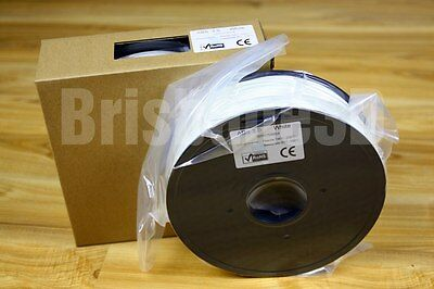 ABS 3D Printer Filament 3mm WHITE 1kg superior quality