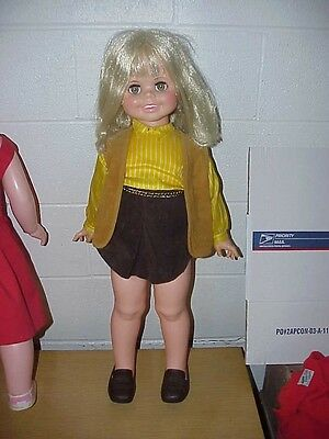 "1969 Ideal Betty Big Girl Playpal Sized 32"" Doll Original Outfit L@@K"