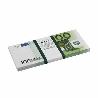 €100 EURO SOUVENIR BANKNOTE 1 pack for Prank & TV/Movie - Full Print, Looks Real