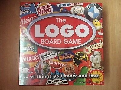 BRAND NEW & SEALED* The Logo Board Game