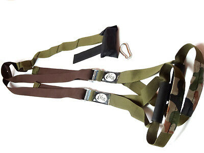 Max Gym ® training S1 Body Trainer. Suspension Band Straps. crossfit army