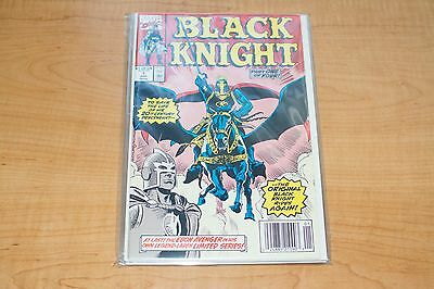 Black Knight #1-4 complete set (Marvel - 1990) - VF to VF/NM condition