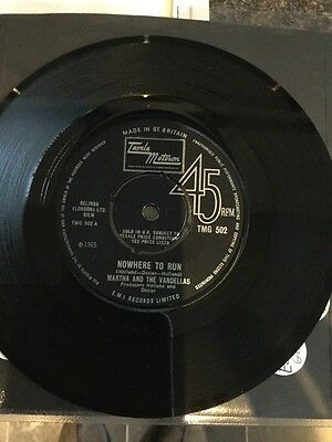 MARTHA REEVES AND THE VANDELLAS - NOWHERE TO RUN  Tmg 502 Northern Soul Classic