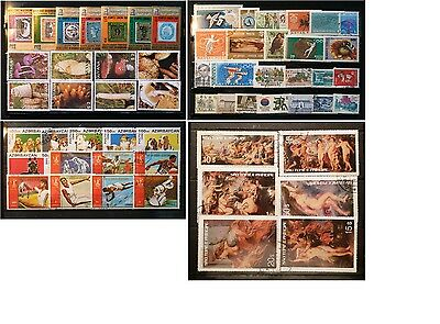 (F102) Saint Tome & Principe Ruben Paintings used stamps