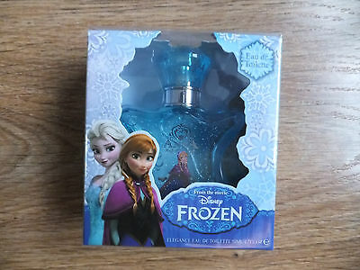 Disney Frozen Elsa Anna Elegance Eau De Toilette Girls Childrens Perfume 50ML