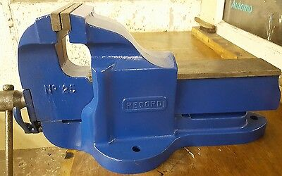 """Record Bench vice no 25 Quick release 6"""" jaws  engineers vice"""