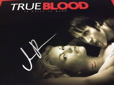 True Blood ' It Hurts So Good' Intialled Promo Photo. COA .8 x 10""