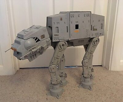 Vintage Star Wars AT-AT Walker ESB 1980 Working Electrics Near Complete