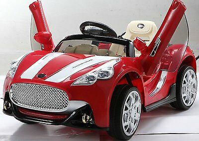 MASERATI Style 12V Kids Electric Ride on Car Remote Parental Control Red New
