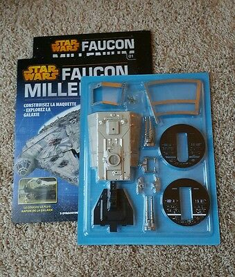 CORRECTED HULL PLATING - DeAgostini FRENCH ISSUE 1 - BUILD the MILLENNIUM FALCON
