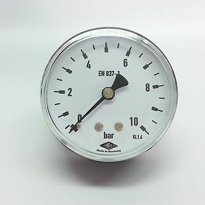 """Manometer Ø63mm  G1/4"""" hinten,  - alle Messbereiche - EMPEO - Made in Germany"""