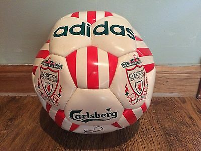 Liverpool FC Signed Ball Late 90's Football