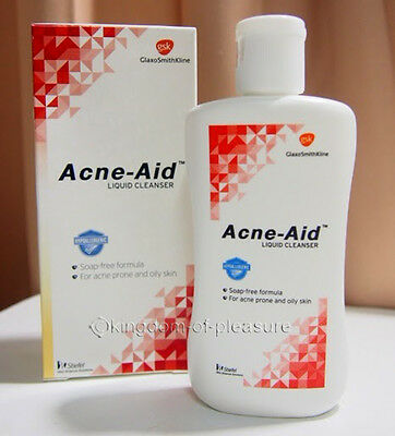 Stiefel Acne Aid Liquid Deep Pore Cleansing Pimple Oily Prone Face Skin 100g