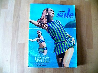 RARE Vintage 1968 Montgomery Ward Summer SALE Catalog Very Good Cond 327 Pgs.