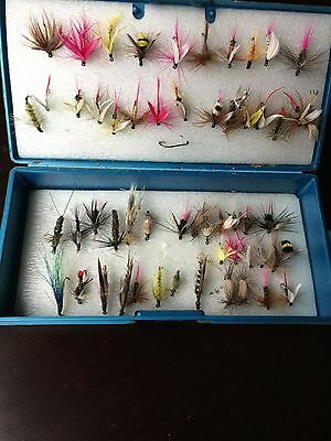Vintage Fly Ties Fishing Lures Trophy Taskmaster U.S.A.