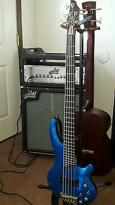 1991 Cort Curbow 5-string Active Bass Guitar