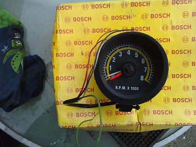 mini  1275 custom aftermarket rev counter car clock fits old 1970s 80s 90s cars