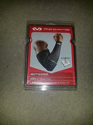 McDavid 6500 Hex Shooter Arm Sleeve Elbow Support LARGE 28-33cm/11-13""