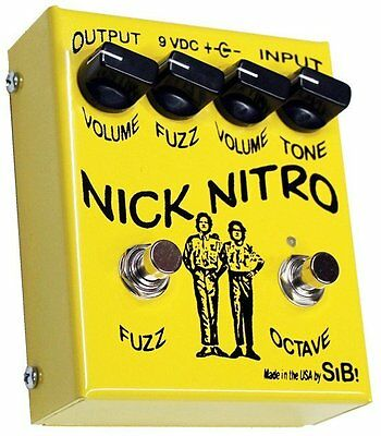 SiB Nick Nitro Octave Fuzz Pedal Hand Built Boutique Effects from US RRP £200+!