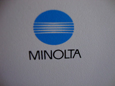 MINOLTA Copy machine---Look NEW (low usage) with a stand and storage and wheels