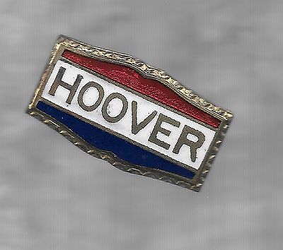 Hoover ---Enamel  Lapel  Pin