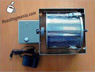 Roasting Mania Coffee Bean Roaster RM 201 All Stainless Frame For Cafe Max 500g