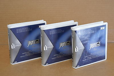 ($0 P&H) New Iomega 10599 Jaz 2 GB Disk PC Formatted (3-Pack)