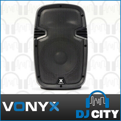 Compact Active Powered PA Speaker, 200 Watts Peak, 8 Inch - Brand New - 12 Mo...