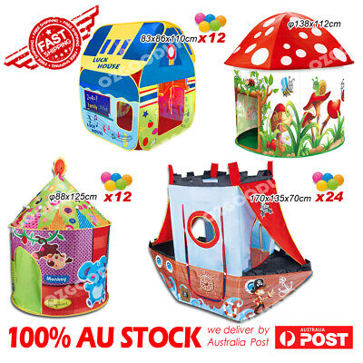 Variety Fun Play Tent Play Vehicle Tent Indoor/Outdoor Kids Christmas Xmas gift