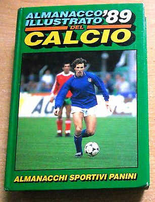 Ed. Panini Vol. Cartonato Almanacco Illustrato Del Calcio 1989  Originale  !!!!